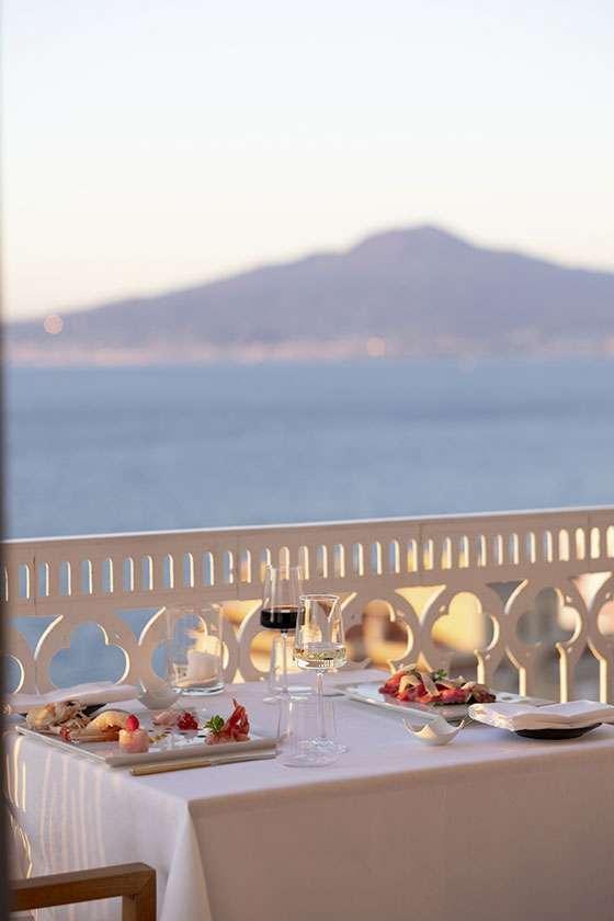 Vesuvio Panoramic Restaurant Sorrento
